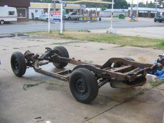 1975 1976 1977 1978 1979 Corvette Frame Rolling Chassis (Fits