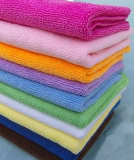 Absorbent Durable Microfiber Children Kid Bath Towel 100x100cm 39x39
