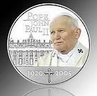 Coins   Silver Coin   Pope John Paul II Coin   Perth Mint Coins