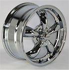Chrome 5 Spoke Wheels Rims 5x115 mm lug pattern for Chevy Impala 2003