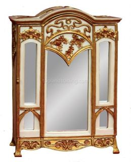 mirrored jewelry armoire in Jewelry Boxes & Organizers
