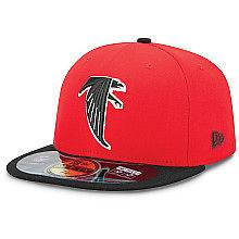 Atlanta Falcons On Field Classic Retro Sideline Cap 5950 Fitted