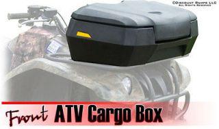 NEW HARD SIDED DELUXE ATV FRONT CARGO RACK STORAGE BOX (ATV CB 6600)