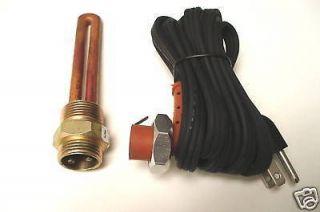 Block heater kit 2003 2011 Ford Powerstroke 6.0L Diesel