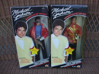 Jackson Dolls Beat it   American Music Awards Superstar 80s MIB NRFB