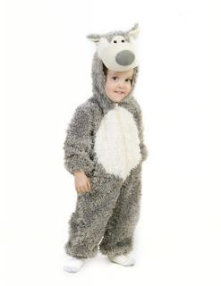 baby infant toddler little big bad wolf plush costume 6