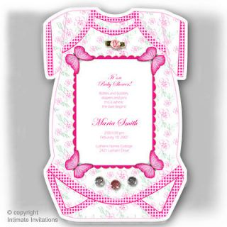 girls baby shower invitations in Birth Announcements & Cards