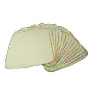 Unbleached 100% Cotton Flannel Cloth Baby Wipes