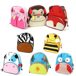 BABY Toddlers Kid Child Animal Bag Backpack Cartoon Schoolbag Back to
