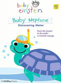Disney Baby Einstein Baby Neptune Discovering Water   Educational DVD