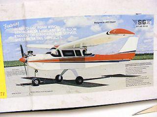 Colt, Vintage RC Plane Balsa Kit Airplane 45 Wing Span   Un Finished