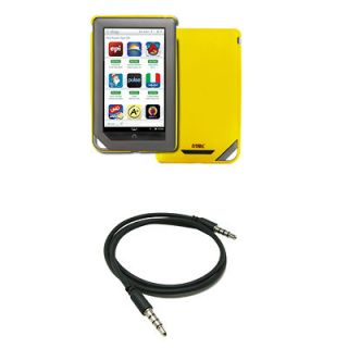 Hard Stealth Case+Stereo Aux Cable for  Nook Color