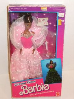 1985 DREAM GLOW BARBIE Doll MIB but Box is Destroyed Make Offer