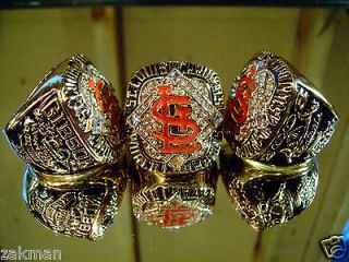 2006 St Louis Cardinals World Series Ring not 2011 18k Championship