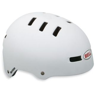 Bell Faction New Matt White Helmet Cycling Bike Bicycle BMX Skate