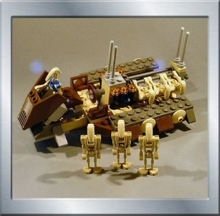 RARE NEW Lego Star Wars 7126 Battle Droid Carrier