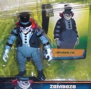 BEN 10 ULTIMATE ALIEN ACTION FIGURE ZOMBOZO MOC 4 Inch 10 cm Bandai