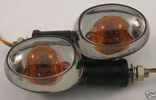 Tinted Motorcycle Turn signals Honda Ace Aero Nighthawk