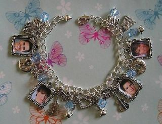 BIG TIME RUSH Inspired Handmade Picture Themed Charm Bracelet