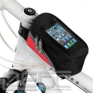 2012 Cycling Bicycle bike Front Tube Frame Bag for Cell IPhone