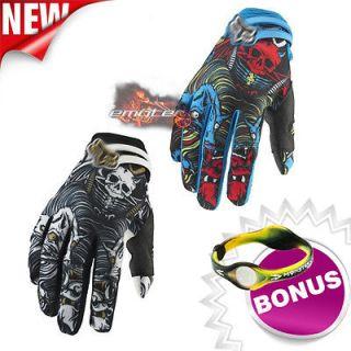 Anti Scene Dirt Bike Cycling Racing Motocross Gloves Gear Size XL