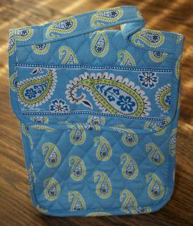 VERA BRADLEY~NWOT~Bermuda Blue Lunch Sack/Bag/Box~NEW NEVER