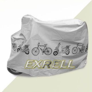 New Bicycle Bike Scooter Cover Waterproof Rain Dust Protection Garage