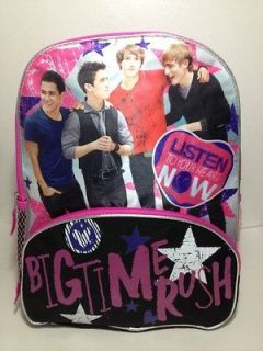 Nickelodeon Big Time Rush 16 Large Backpack School Bag James Carlos