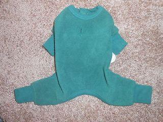NWT, BIG DOGS Green Fleece, Doggie Pajamas/Clothes XXXL, PERFECT FOR
