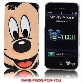 Mickey Mouse Face iPhone 4/4S Case & Screen Protector Disney Parks