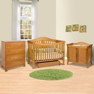 afg athena leila crib and dresser changing table and mattress combo. Black Bedroom Furniture Sets. Home Design Ideas