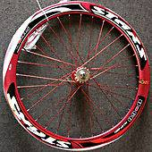Deep Rims Aluminum alloy front & rear wheels fixie fixed gear bike rd