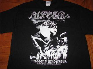 ulver nattens madrigal t shirt black metal death burzum mortiis