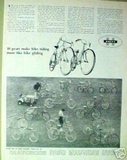 1967 Huffy Rail,Belair,Dragster,Carlton Bicycle/Bike AD