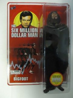 Bing Bang Pow Six Million Dollar Man Bigfoot Action Figure MINT on