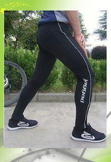 Mens cycling pants 3D padding winter pants wind proof lycra fabric