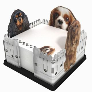 Note Holder Cavalier King Charles New Made in the USA