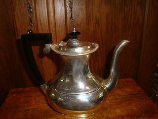 Antique Sheffield Silver Plated Tea Pot or Coffee Pitcher ART DECO