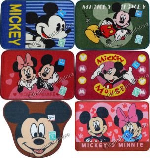 Disney Mickey Minnie Mouse Bath Mats Floor Rugs Non Slip Rubber