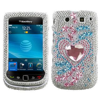 TRACK BLING HARD CASE FOR BLACKBERRY TORCH 9800 PROTECTOR SNAP COVER