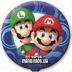 Super Mario Bros Party   18 Non Message Foil Balloon