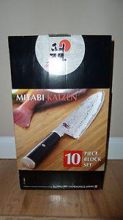Henckels Miyabi Kaizen 10pc Knife Block Set *BRAND NEW in BOX