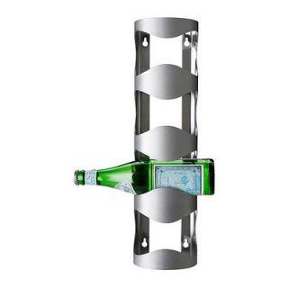bottle wine rack, stainless steel