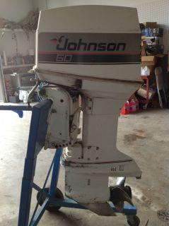 Johnson 60 Outboard Boat Motor Controls 2 Stroke Evinrude OMC SHIP