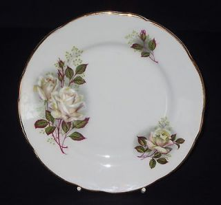 GLADSTONE * Vintage Fine Bone China Staffordshire Side Plate * Roses