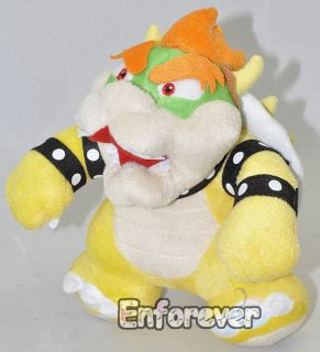 10 Super Mario Bros BOWSER Cute Soft Plush Doll Toy^MT1681