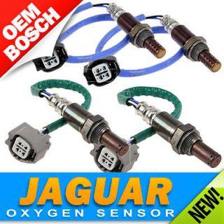 Set Jaguar OXYGEN SENSOR Front & Rear Left & Right Bosch OEM O2 02
