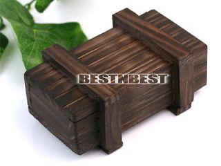Puzzle Box Wooden Secret Mini Compartment Gift Intelligence Brain