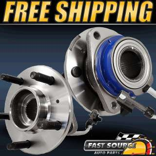 LEFT AND RIGHT) CHEVY BUICK GM 2WD 5 LUG W/ABS NEW WHEEL HUB BEARING