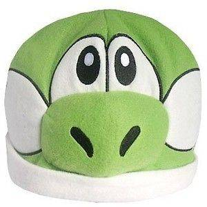 Yoshi Hat   Super Mario Bros Plush Beanie   Cosplay Halloween Costume